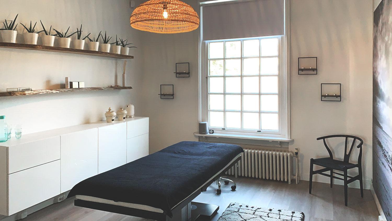 Praktijk Interieur Sharon Van den Berg Ayurvedische Therapeutische Massage Nijmegen